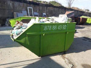 Контейнери за битови и строителни отпадъци 4 кубика - Хипо-3 ЕООД